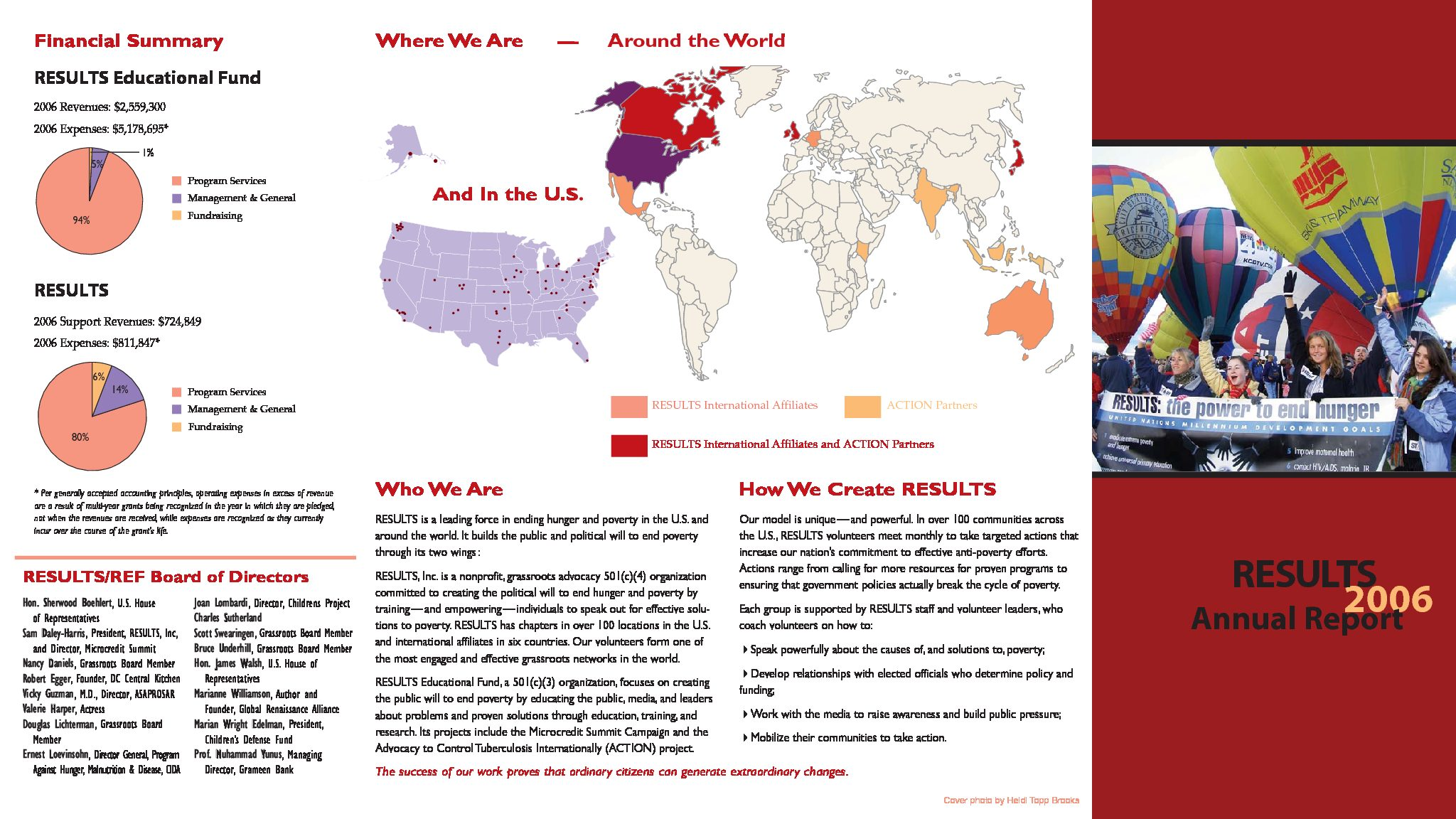 2006 Annual Report Brochure