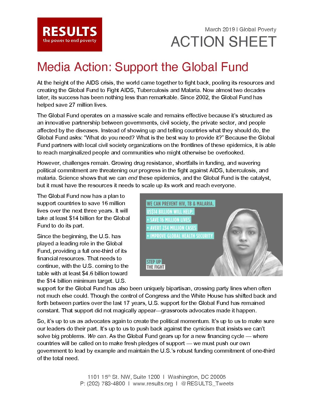 March 2019 Global Action - Global Fund LTE